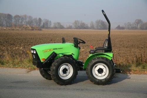 Mini-traktori-Cabrio comfort