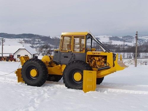 Meža traktoru LKT 81 rezerves daļas