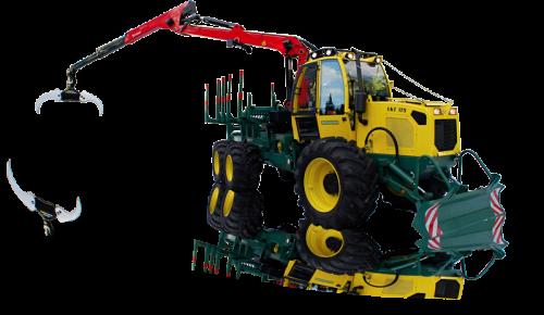 LKT 81,82 treilēšanas traktori un LKT 175 Forvarders